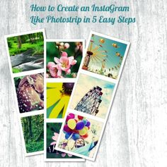 How to Create an Instagram Like Photostrip in 5 Easy Steps   Vintage Glam Studio