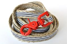 Hemp Collars and Leashes from Green Bean Dog & Cat