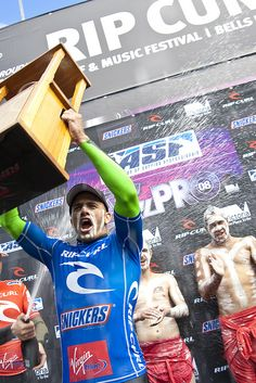 2008 : Kelly Slater First Place Bells #surf