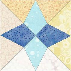 @Jennifer Ofenstein  can help you make your quilt shine with a gorgeous star quilt block using winter colors.