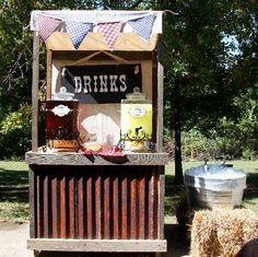 Vintage Drinks Bar