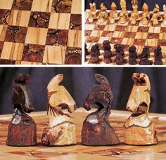 I want this chess set!