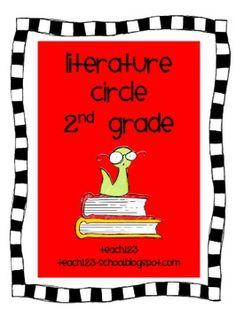 Common Core aligned:  Literature Circle for 2nd Grade   $6