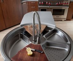 Chop, strain, wash, repeat! This sink can do it all.