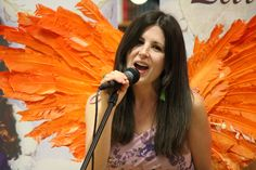 Amy Atchley sings with Fairy Wings by Jennifer Ayers