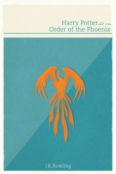 Harry Potter and the Order of the Phoenix Minimalist Poster - Sarah Naeem
