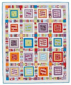 Floating Boxes Quilt Tutorial