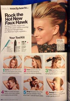 Faux Hawk - Yes please