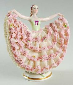 Fancy Dress Dancer - Irish Dresden