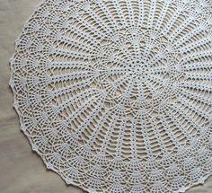 Kitchen Table Crochet Decoration