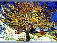 "Van Gogh ""The Mulberry Tree"" artists, vangogh, vans, color, 1889, trees, vincent van gogh, mulberri tree, tree of life"