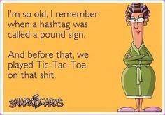 I'm so old..haha
