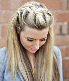 By Anna Jean Mohni. Warm blonde hair @Bloom.com