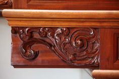 Detail of stairs at Tryon Palace in New Bern, NC presented in our August issue.
