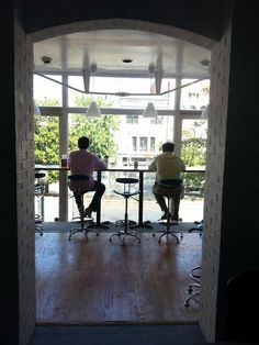 """""""#myawesomedesk comes with a great view and even better company."""""""
