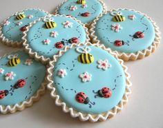 Bees & Ladybug Cookies