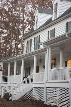 The Porch that Took 17 Years to Build - the Before/ AFTER pictures. An inspirational story in waiting and paying cash - debt free living