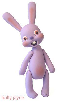 Scary Cute Bunny Lilac by hollyjayne, via Flickr