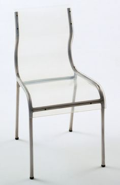 Chair, Gilbert Rohde, Stainless steel and Plexiglas, 1938.