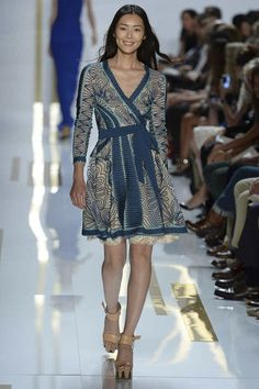 #NYFW - Runway: Diane von Furstenberg Spring 2014 Ready-to-Wear Collection #DVF