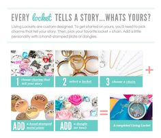 Personalized Lockets - Origami Owl