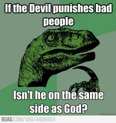 Raptor Questions his Faith