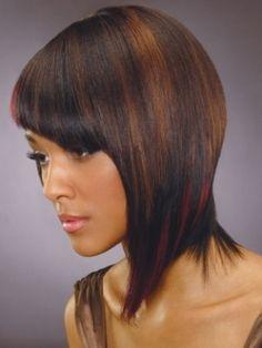 medium hair for black women