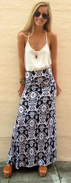 The Summer Lovin' Skirt - Boca Leche