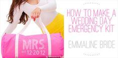 how to make a wedding emergency kit