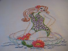 sublime stitching pin up - Google Search googl search, sublim stitch, pixel art, pin up girls, embroideri addict, stitch pin