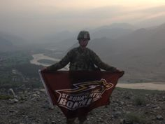 Tj Rosetti from  Kunar, Afghanistan. So awesome! Thank you for your service, Tj!