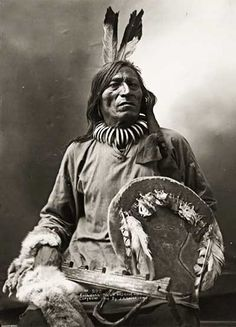 Chief Fool Bull of the Brule Indian Tribe (Sioux Lakota)
