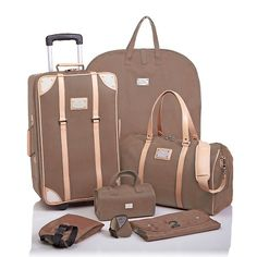 Joy Mangano Paris Trunk Show 6-piece Mega Travel Set