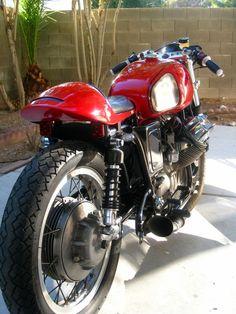 RocketGarage Cafe Racer: 1969 Moto Guzzi V700 love love love