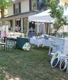 The Vintage Farmhouse Yard Sale