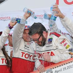 People Pole Award winner and Toyota Pro/ Celebrity Race Winner! Congrats Rutledge Wood!