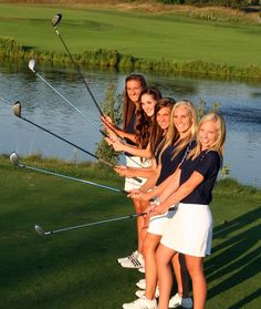 Golf team..this is cute we should take more team pictures on the course