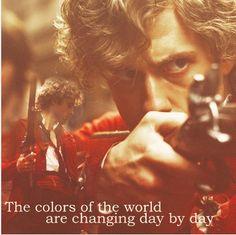 dawn, les miserables enjolras, les misérabl, colors, angri men, movi, les miserables musical, aaron tveit, red black