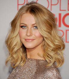 Wavy Hairstyles - Celebrities Hairstyles for Wavy Hair - Good Housekeeping