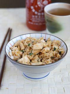 Thai basil chicken fried rice