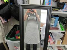 Become ONE with the flannel board - with an apron!
