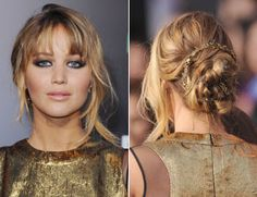 Braided updo for prom?