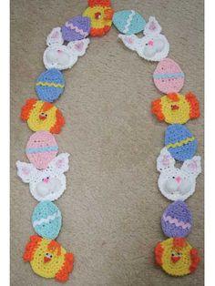 Easter Scarf Crochet
