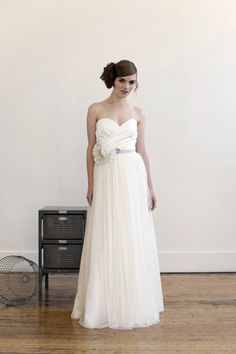 I usually dislike wedding dresses, but this one is really cute. #wedding #dress