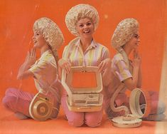"""old fashioned """"bonnet"""" style hair dryer"""