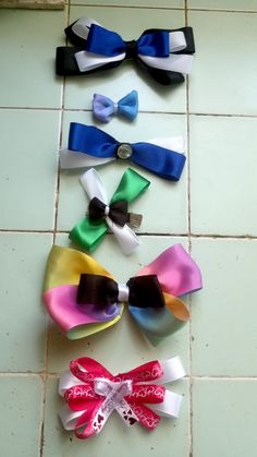 Bows by me!!