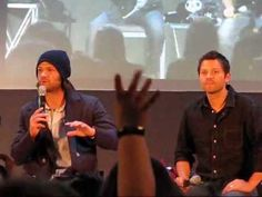 JIB3. Jared and Misha - trolling girls! Start of panel