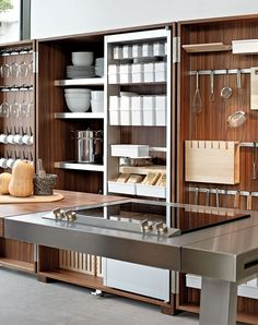 Kitchen porn! bulthaup b2 tool cabinet. www.bulthaupsf.com #bulthaup #kitchen #design