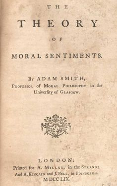 The Theory of Moral Sentiments Analysis