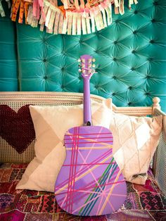 Duct Tape Accessories - Budget-Friendly Duct Tape Decorations for Kids Rooms on HGTV